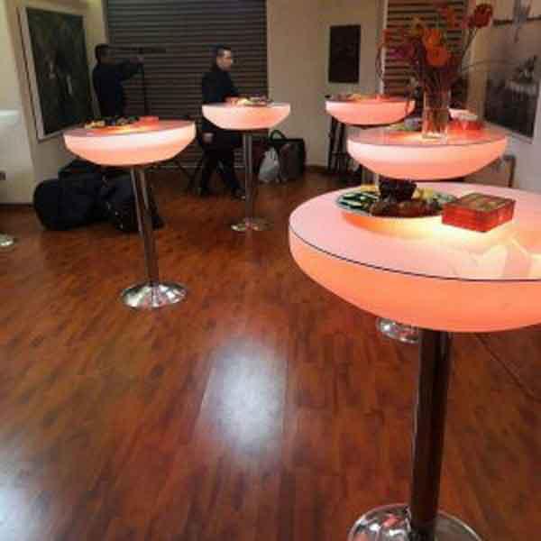 خدمات مجالس - میز سوارز پایه استیل